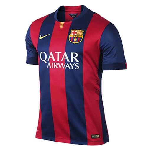پیراهن تکی بارسلونا ۲۰۱۶-۲۰۱۷  