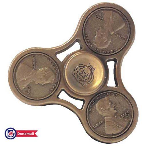اسپینر فلزی سکه ای