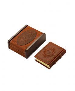 جعبه حافظ قالب چوبی رویه چرمی