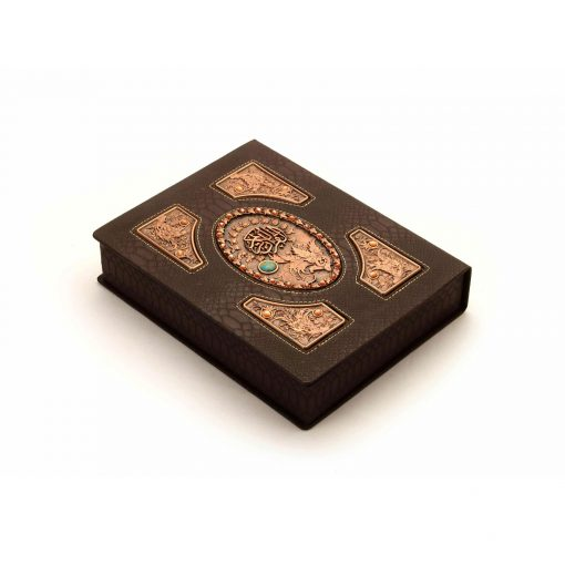 قرآن و جعبه قرآن نفیس چرمی