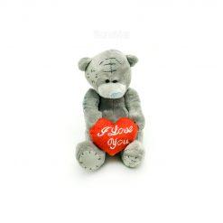 عروسک خرسی پاپی لاو مدل Bear with Heart