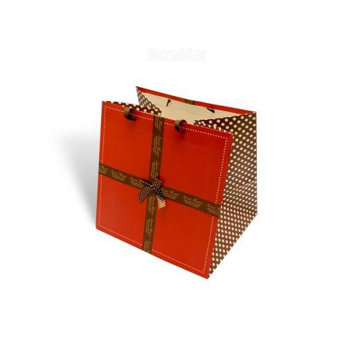 ساک توپی قرمز ولنتاین برای بسته های لاکچری ولنتاین شما در سال 96 با فروشگاه دونامال