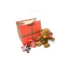 پک خرس تدی ولنتاین برای روز عشق در قروشگاه دونامال