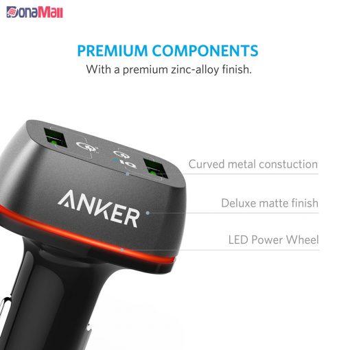 شارژر فندکی انکر مدل Anker PowerDrive+