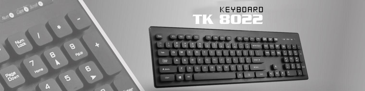 کیبورد تسکو مدل TSCO TK8022