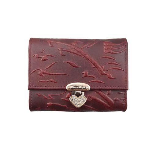کیف پول دخترانه سیاه مشق