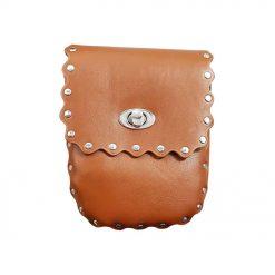 کیف دوشی چرمی دخترانه